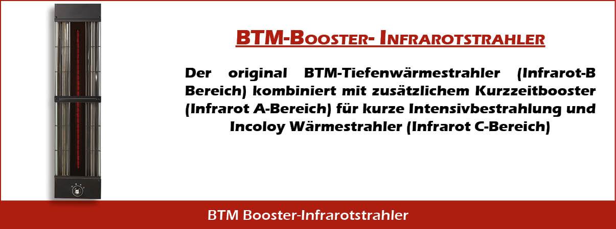 BTM Booster Infrarotstrahler
