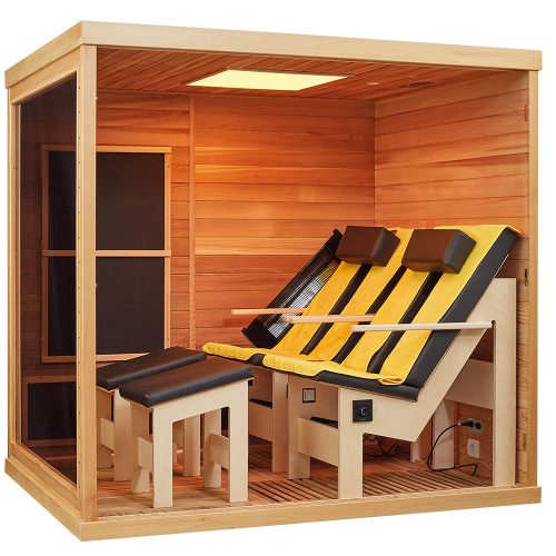 BTM Infrarotkabinen Therapeutica Next Level Double Comfort