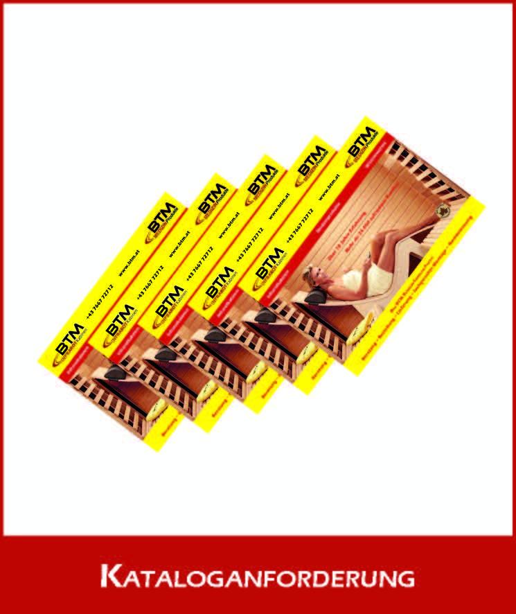 BTM Infrarotkabine Katalog